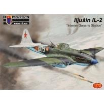 """Iljušin IL-2 """"Interim Gunners Station"""" (1:72)"""