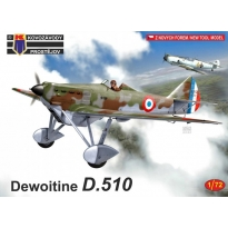 Dewoitine D.510 in the Blue Sky of Sweet France (1:72)