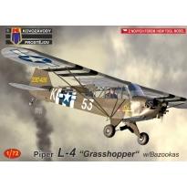 "Piper L-4 ""Grasshopper"" w/Bazookas (1:72)"
