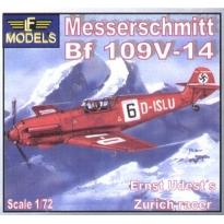 Messerschmitt Bf 109V-14 Ernst Udet's Zurich Racer (1:72)