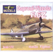 Caproni-Vizzola F.6Z Italian fighter (1:72)