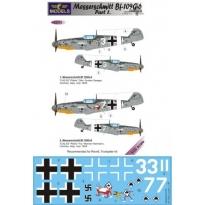 Messerschmitt Bf 109G-6 Comiso cartoon part 1 (1:32)