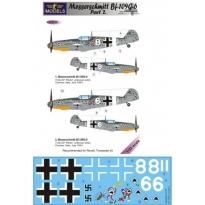 Messerschmitt Bf 109G-6 Comiso cartoon part 2 (1:32)
