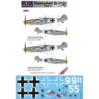 Messerschmitt Bf 109G-6 Comiso cartoon part 3 (1:32)