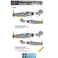 Messerschmitt Bf 109G-6 Comiso cartoon part 1 (1:144)