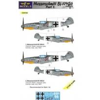 Messerschmitt Bf 109G-6 Comiso cartoon part 2 (1:144)