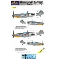 Messerschmitt Bf 109G-6 Comiso cartoon part 3 (1:144)