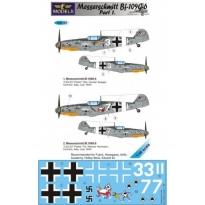 Messerschmitt Bf 109G-6 Comiso cartoon part 1 (1:48)