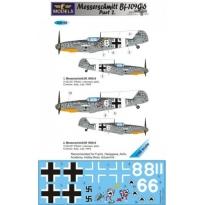 Messerschmitt Bf 109G-6 Comiso cartoon part 2 (1:48)