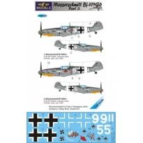 Messerschmitt Bf 109G-6 Comiso cartoon part 3 (1:48)