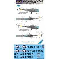 Sikorsky H-5F/G over USA (1:48)
