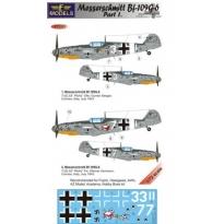 Messerschmitt Bf 109G-6 Comiso cartoon part 1 (1:72)
