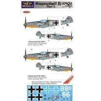 Messerschmitt Bf 109G-6 Comiso cartoon part 2 (1:72)