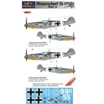 Messerschmitt Bf 109G-6 Comiso cartoon part 3 (1:72)