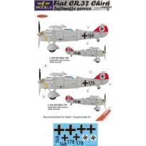 Fiat CR.32 Chirri Luftwaffe service (1:72)