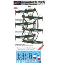 Messerschmitt Bf 109E-3a over Yugoslavia part 1 (1:72)