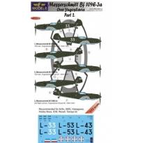 Messerschmitt Bf 109E-3a over Yugoslavia part 2 (1:72)