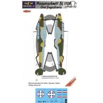 Messerschmitt Bf 110C over Yugoslavia (1:72)