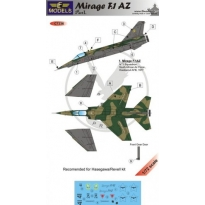 Mirage F.1AZ S. Africa part I: kalkomania + konwersja (1:72)
