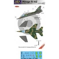 Mirage F.1AZ Gabon pt. III: kalkomania + konwersja (1:72)