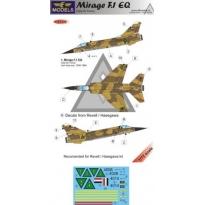 Mirage F.1EQ Iraqi AF: kalkomania + konwersja (1:72)