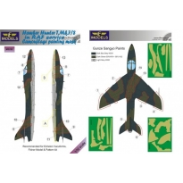 Hawker Hunter T.Mk.7/8 in RAF service Camouflage Painting Mask (1:32)