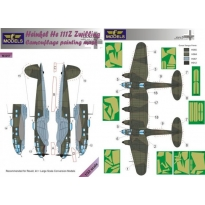 Heinkel He 111Z Zwilling Camouflage Painting Mask (1:32)