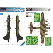 Boeing B-17 RAF Camouflage Painting Mask (1:48)