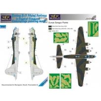 Boeing B-17 Coastal Command Camouflage Painting Mask (1:48)