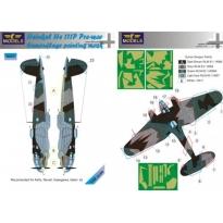 Heinkel He-111P Pre war Camouflage Painting Masks (1:48)