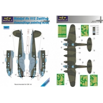 Heinkel He 111Z Zwilling Camouflage Painting Mask (1:48)