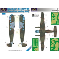 Siebel Si 204D Camouflage Painting Mask (1:48)