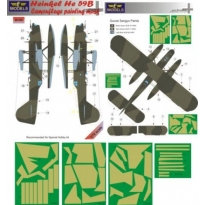 Heinkel He 59B Camouflage Painting Mask (1:72)