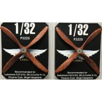 Oddy AB665 4-blade propeller (2 szt.) (1:32)