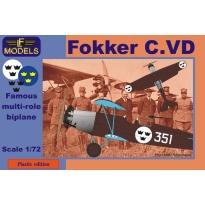 Fokker C.VD Sweden (1:72)