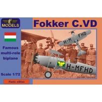 Fokker C.VD Hungary (1:72)