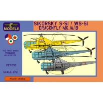 Westland Sikorsky WS-51 Dragonfly Holland, Yugoslavia, Italy (1:72)