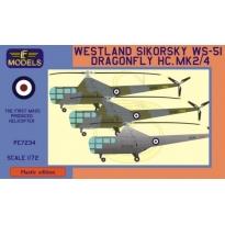 Westland Sikorsky WS-51 Dragonfly HC.Mk.2/4 (1:72)