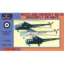 Westland Sikorsky WS-51 Dragonfly HR.Mk.1/5 (1:72)
