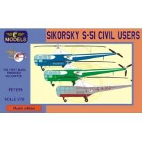 Sikorsky S-51 Civil users (1:72)