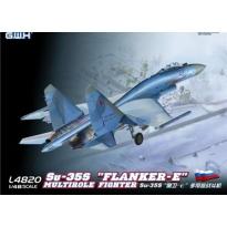 """Su-35S """"Flanker-E"""" Multirole Fighter (1:48)"""
