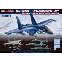 "Su-35S ""Flanker-E"" Multirole Fighter Air to Surface Version (1:48)"