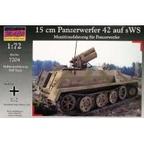 sWS with 15 cm Panzerwerfer 42 (rocket launcher) (1:72)