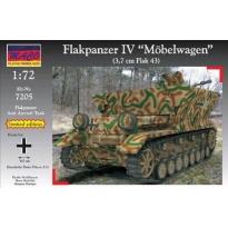 """Flakpanzer IV """"Moebelwagen"""" (German aa tank WW.II) - Limited Edition - (1:72)"""