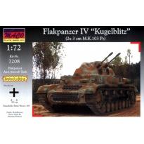 "Flakpanzer IV ""Kugelblitz"" (German anti aircraft tank WW.II) - Limited Edition - (1:72)"