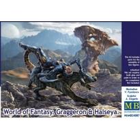 World of Fantasy.Graggeron and Halseya (1:24)