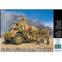 Italian military men, WWII era (1:35)