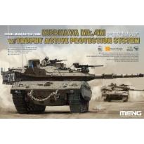 Israel Main Battle Tank merkava Mk.4M w/Trophy Active Protection System (1:35)