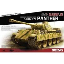 German Medium Tank Sd.Kfz.171 Panther Ausf.D (1:35)