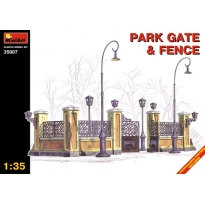 Park gate and fence (1:35)